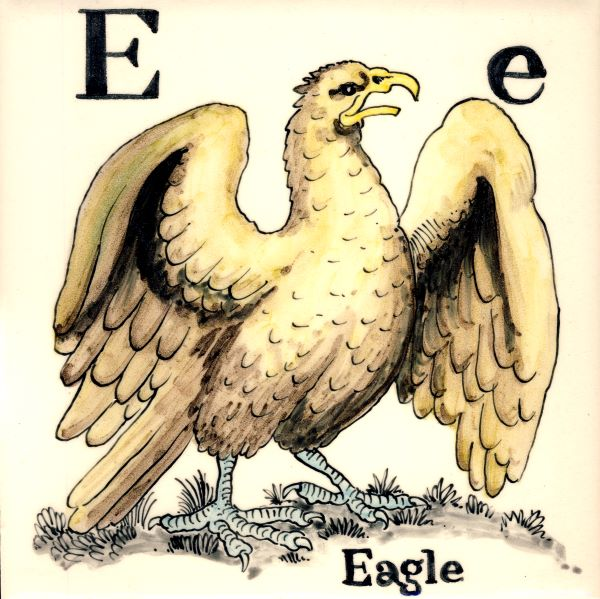 Alphabet-tile-E-Eagle