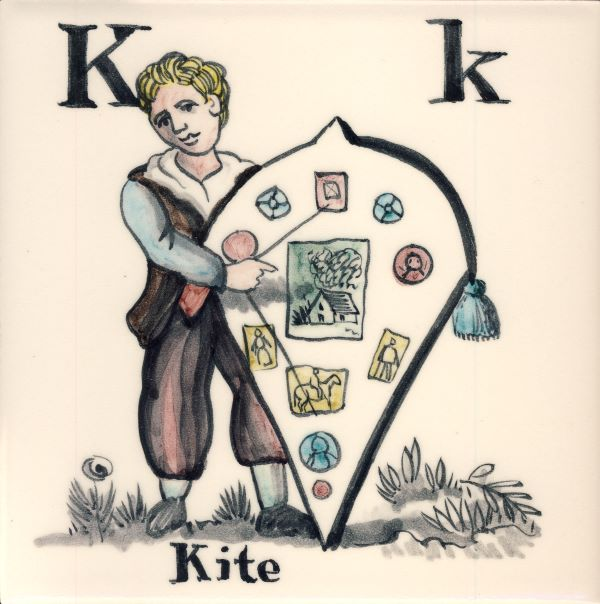 Alphabet-tile-K-Kite