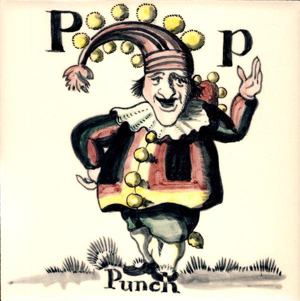 Alphabet-tile-P-Punch