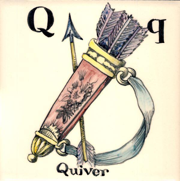 Alphabet-tile-Q-Quiver