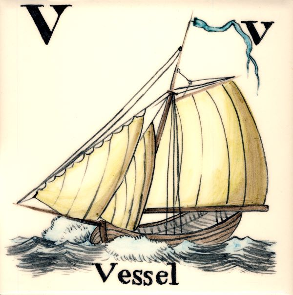 Alphabet-tile-V-Vessel