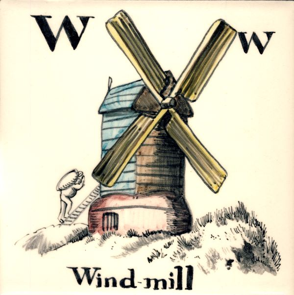 Alphabet-tile-W-Windmill