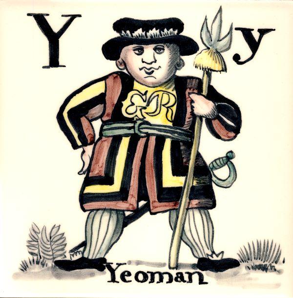 Alphabet-tile-Y-Yeoman