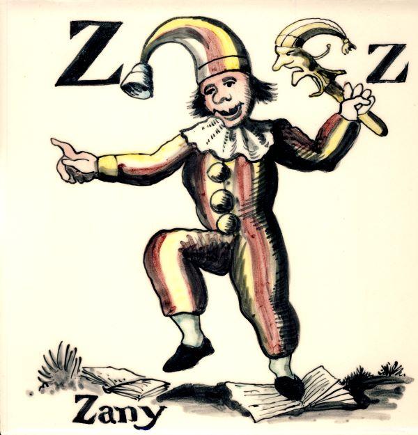 Alphabet-tile-Z-Zany