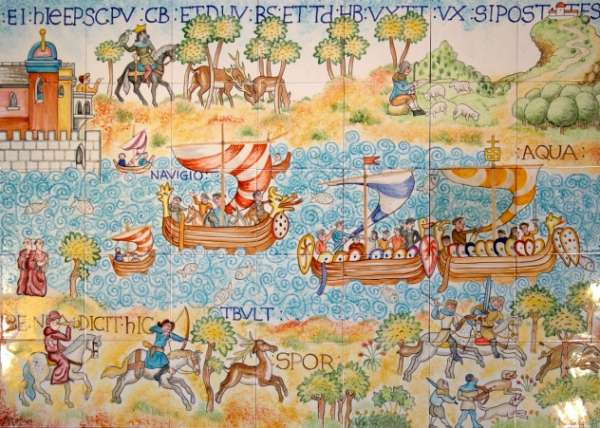 Bayeux Tapestry Panel