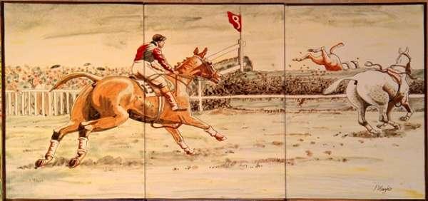 Horse racing at Blindley Heath