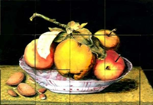 Dutch still life - apples