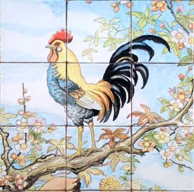Cockerel Chinoiserie
