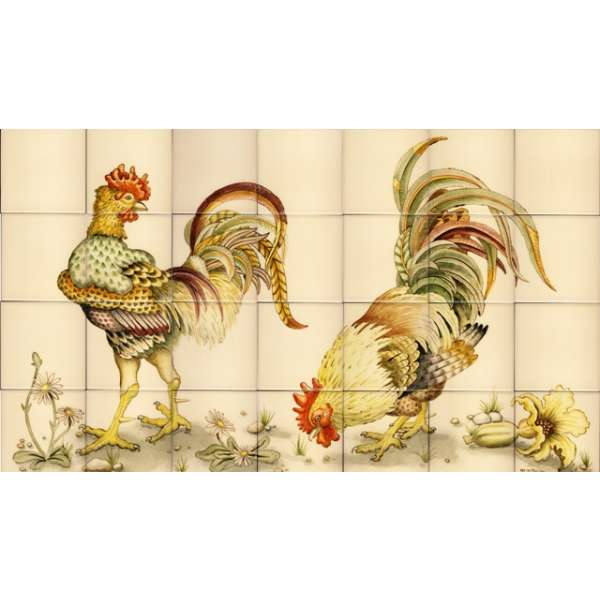 Chickens, hens, roosters and cockerels 13