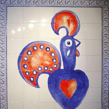 Nandos Restaurant Tile