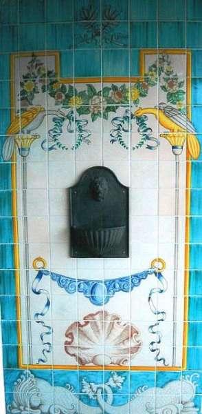 Portuguese fountain panel