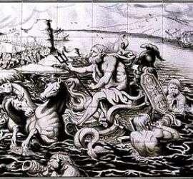Rubens tile mural