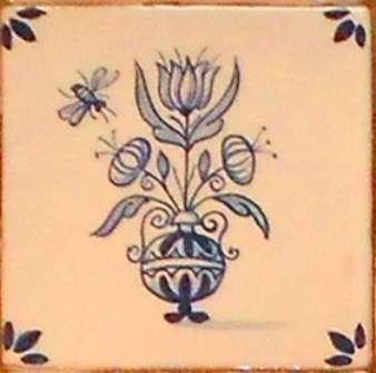 Rustic Delft Tiles 4
