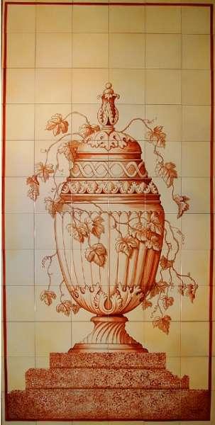 Sepia urn