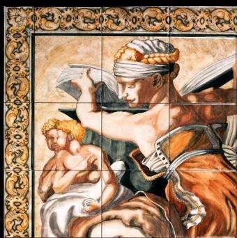 Sistine Chapel detail