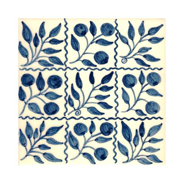 Delft tiles - William Morris blue & white 3