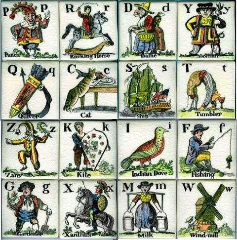 Alphabet tiles 2