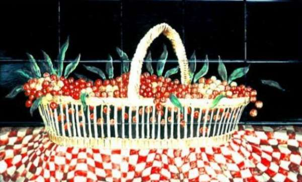 Dutch still life - cherries