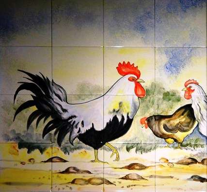 Chickens, hens, roosters and cockerels 8