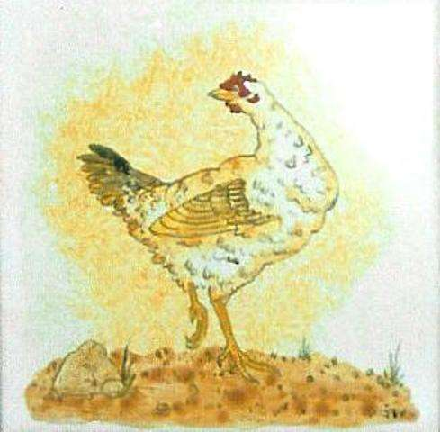 Chickens, hens, roosters and cockerels 2