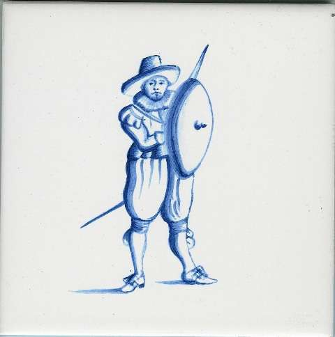 Delft tiles - figure 11