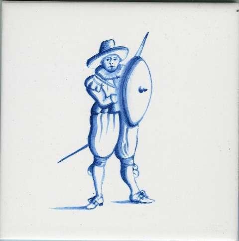 Delft tiles - figure 11