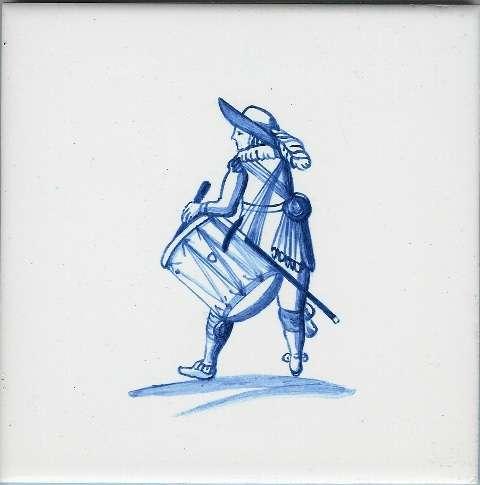 Delft tiles - figure 12