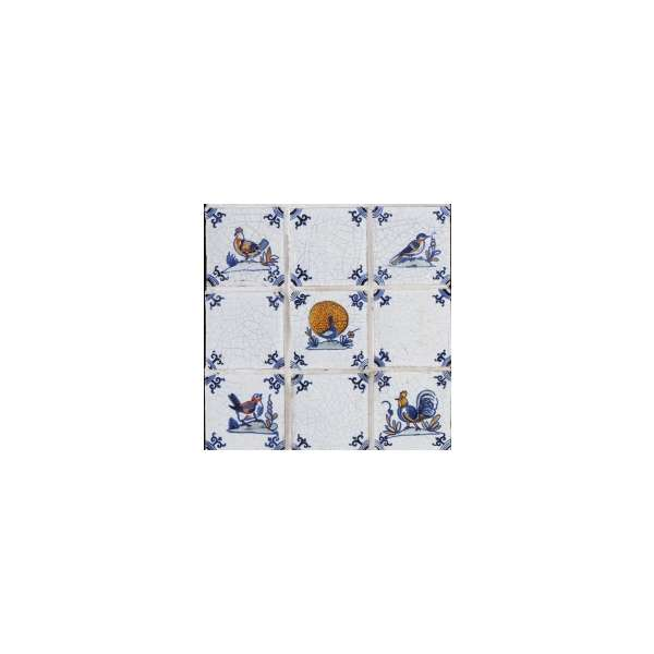 Delft - bird designs
