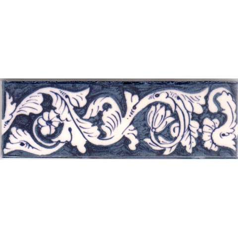 Delft Border Tile on digital tiles