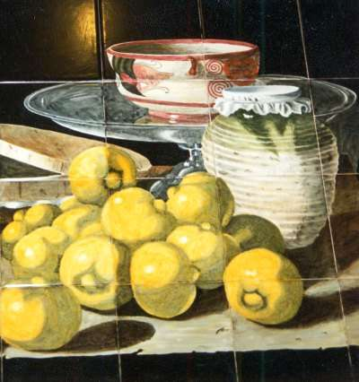 Dutch still life - lemons