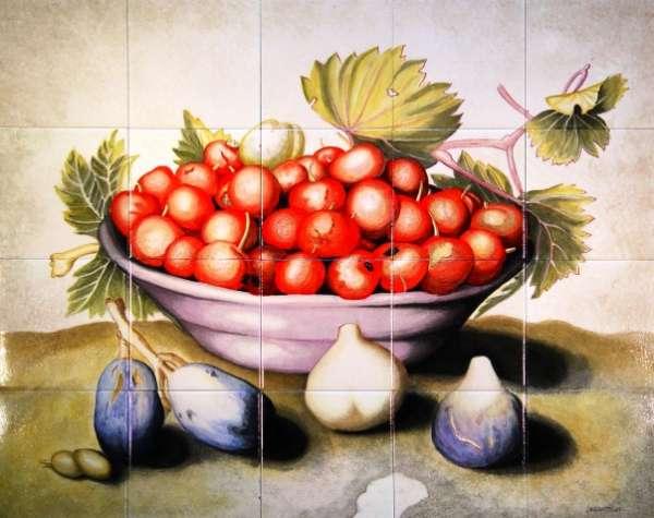 Bowl of Cherries & Figs