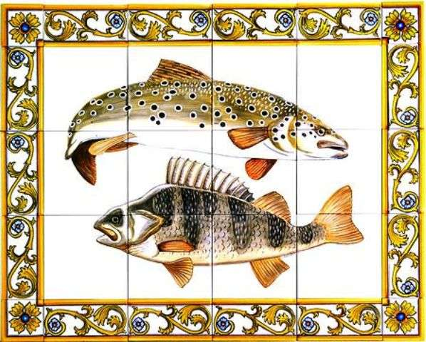 Fish panel 3 with borders