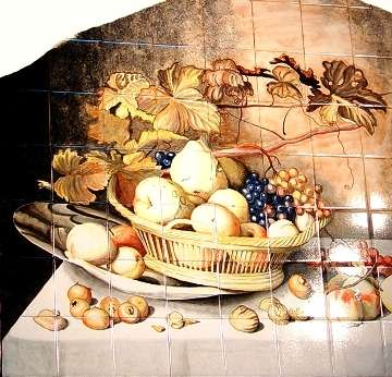 Dutch still life - fruit