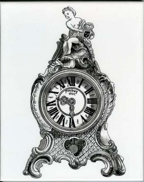 Neo-classical clock 2