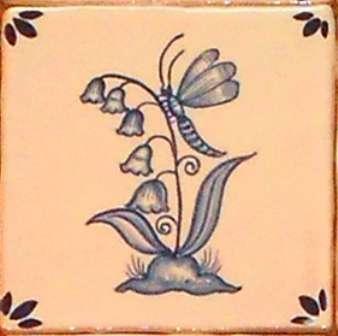 Rustic Delft Tiles 5