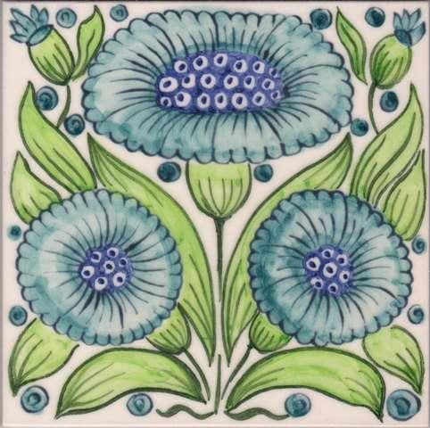 William Morris Floral 4