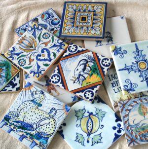 Delft tiles by Art on Tiles.