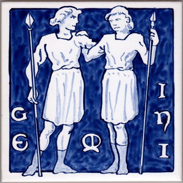Zodiac-Gemini-Tile