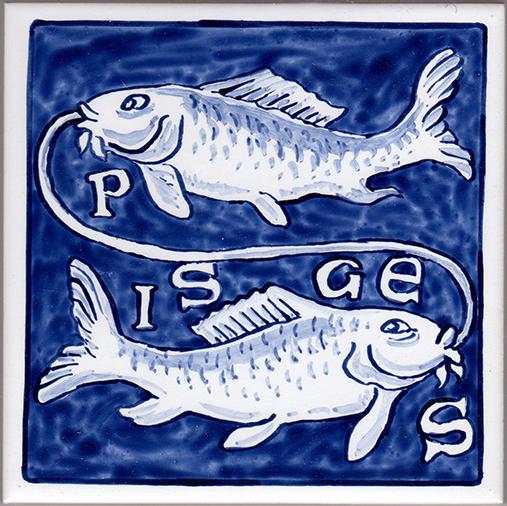 Zodiac-Pisces-Tile