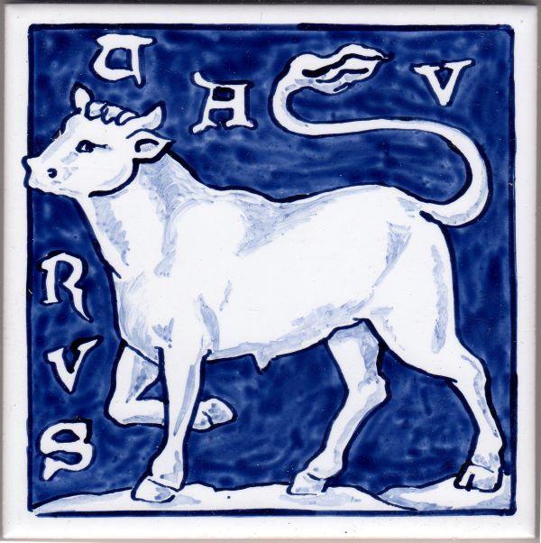 Zodiac-Taurus-Tile