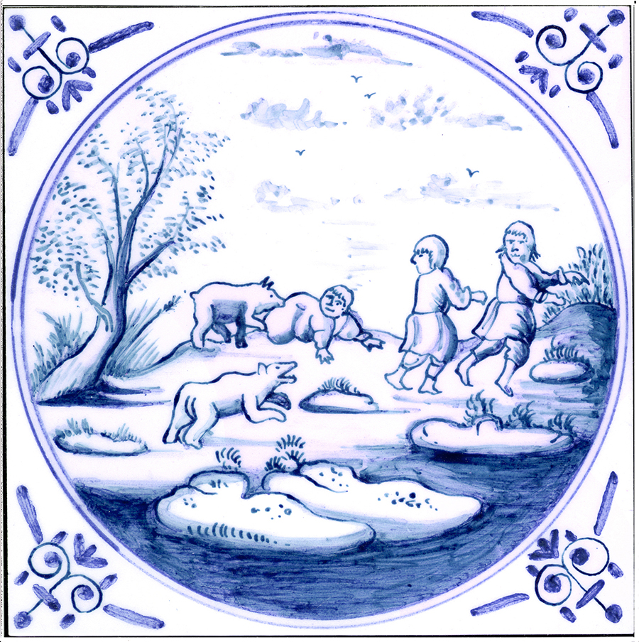 Delft-tile-corners-circle-6B